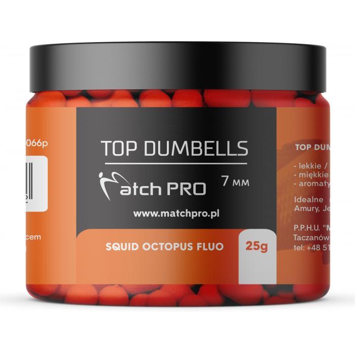 TOP DUMBELLS SQUID OCTOPUS FLUO 7mm / 25g MatchPro