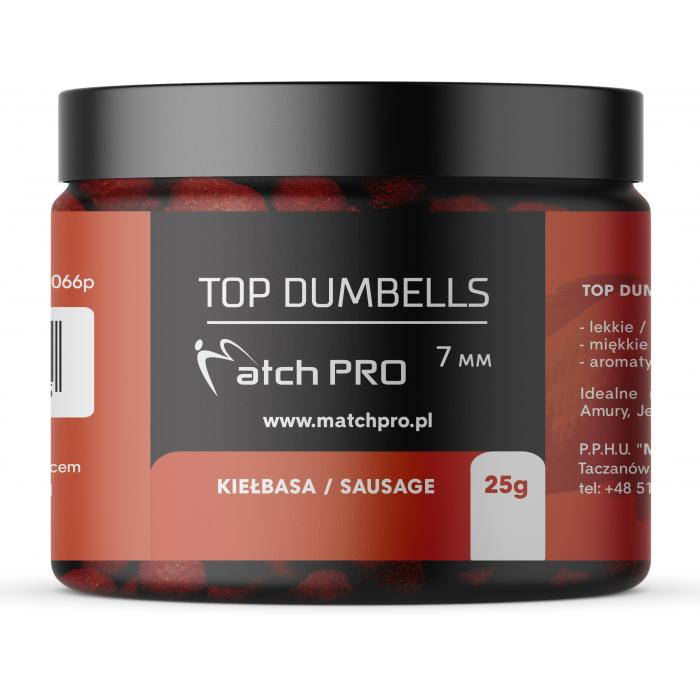 TOP DUMBELLS SAUSAGE 7mm/ 25g MatchPro