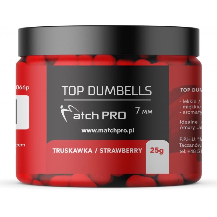 TOP DUMBELLS STRAWBERRY 7mm / 25g MatchPro