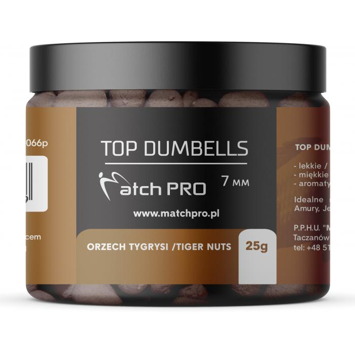 TOP DUMBELLS TIGER NUTS 7mm/ 25g MatchPro