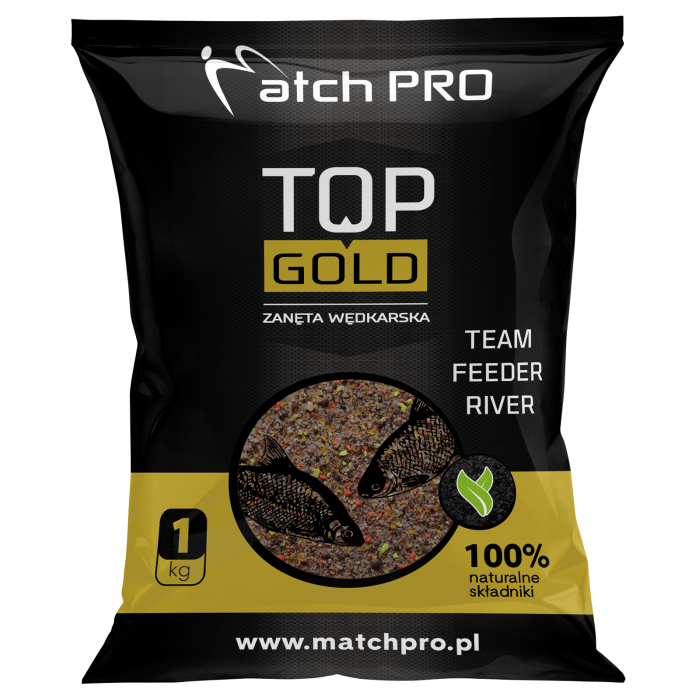TOP GOLD TEAM FEEDER RIVER MatchPro 1kg
