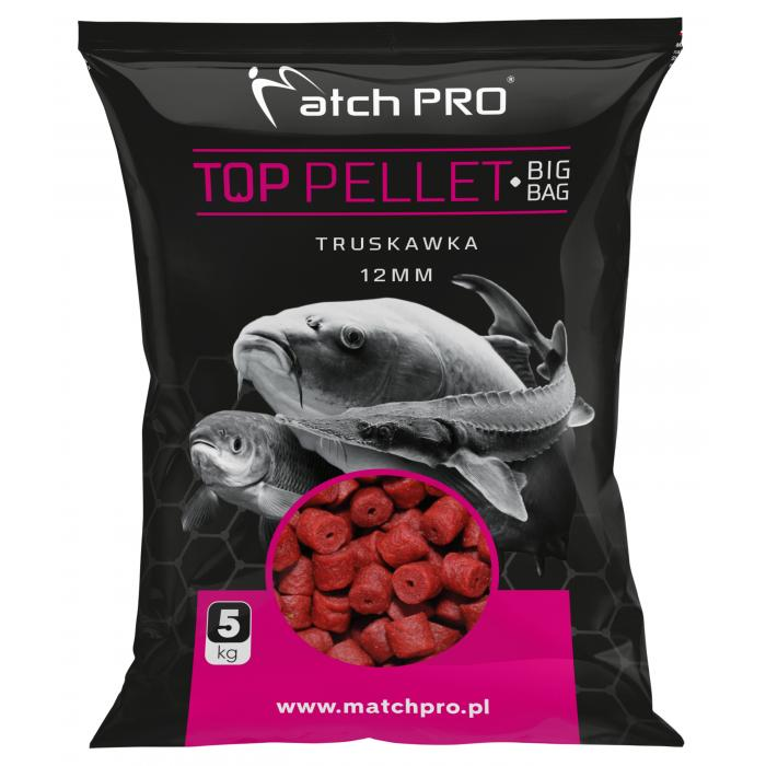 Пелети MatchPro STRAWBERRY 12mm 5kg