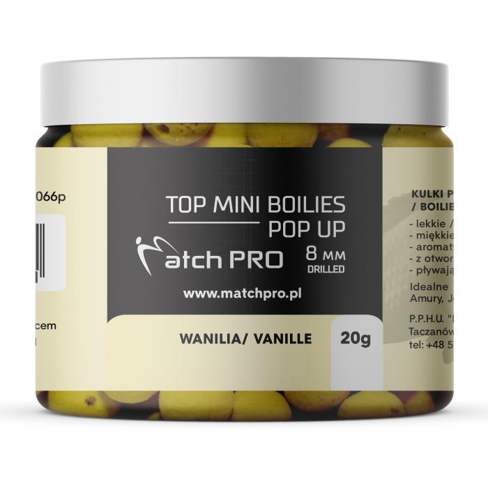 TOP BOILIES POP UP VANILLA 8mm / 20g MatchPro