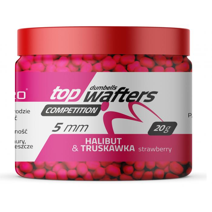 TOP DUMBELLS WAFTERS HALIBUT & STRAWBERRY 5x6mm 20g MatchPro