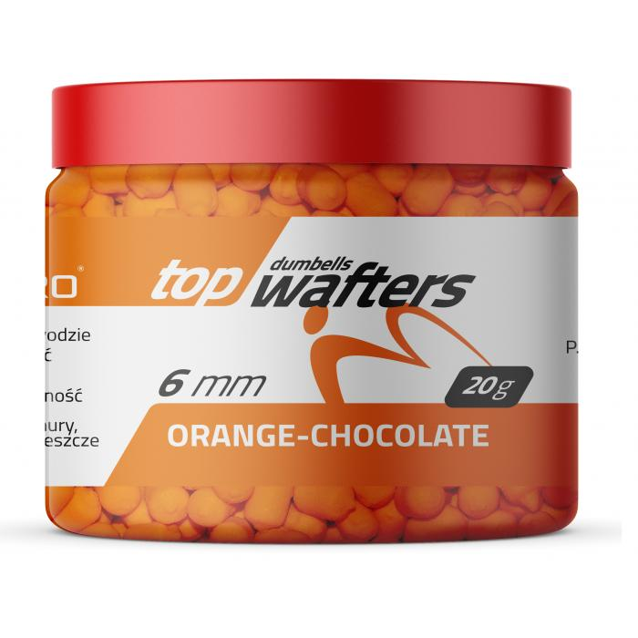 TOP DUMBELLS WAFTERS ORANGE CHOCOLATE 6x8mm 20g MatchPro