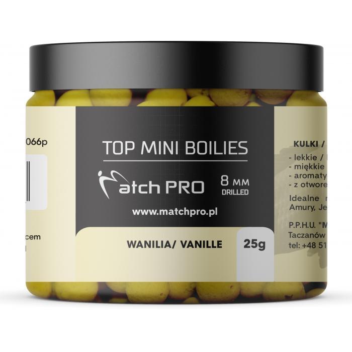 TOP BOILIES VANILLA 8mm / 25g MatchPro