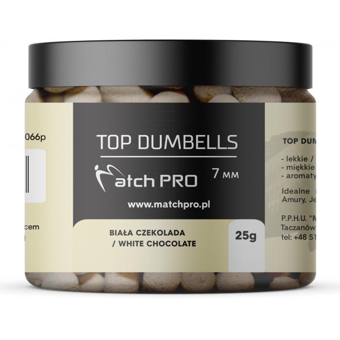 TOP DUMBELLS WHITE CHOCOLATE 7mm / 25g MatchPro