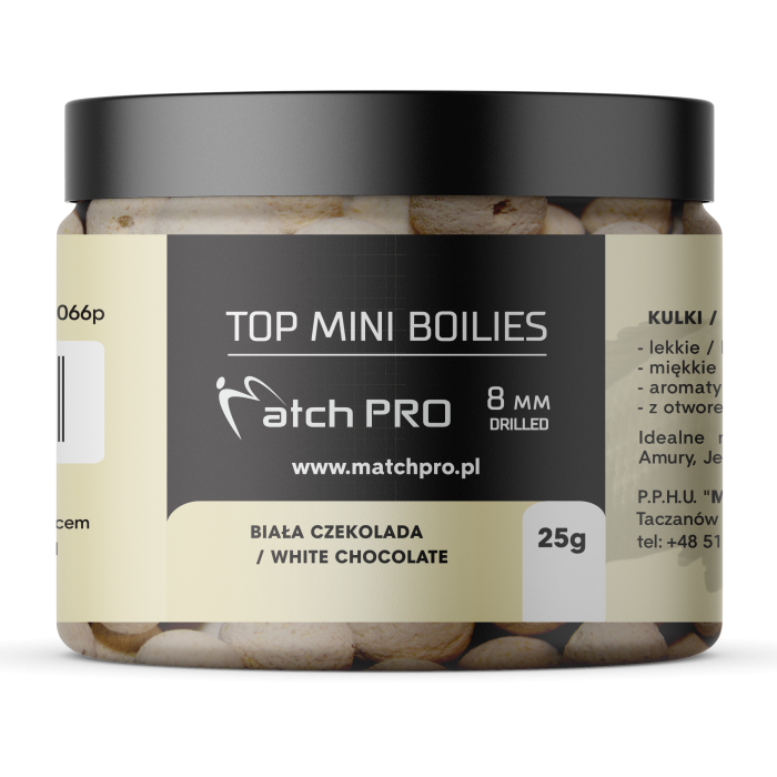 TOP BOILIES WHITE CHOCOLATE COLA 8mm/25g MatchPro