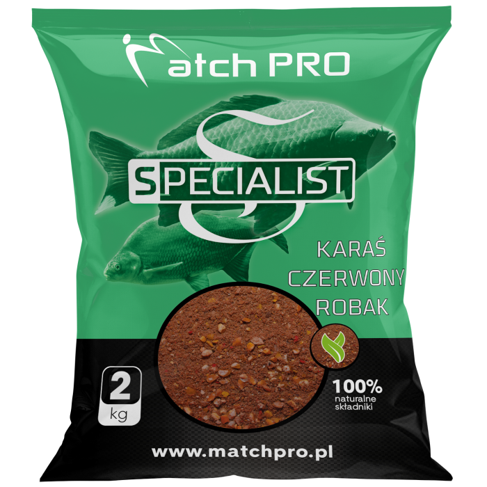 SPECIALIST CRUCIAN RED WORM MatchPro 2kg