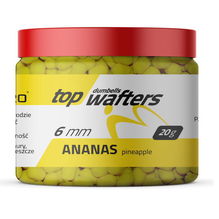 TOP DUMBELLS WAFTERS PINEAPPLE 6x8mm 20g MatchPro